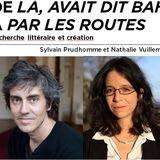Recherche littéraire et création-Sylvain Prudhomme