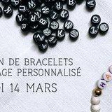 Créations de bracelets personnalisés