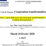 Café de l'Europe: Coopération transfrontalière