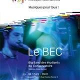 Le BEC, le Big Band du conservatoire neuchâtelois
