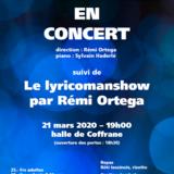 La Sarabande suivi du Lyricomanshow - Concert