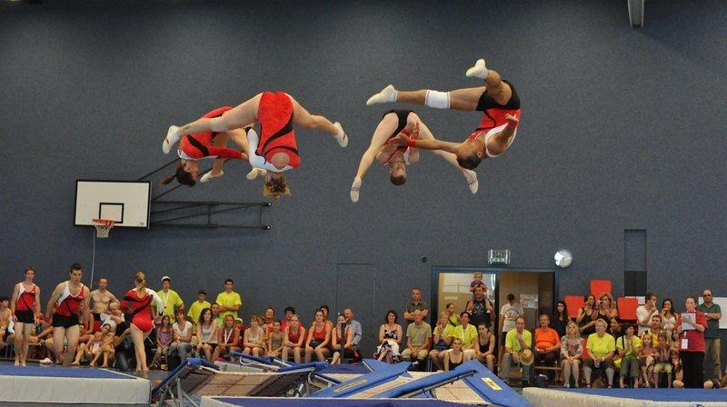 Des jeunes gymnastes venant de toute l'Europe débarqueront à Neuchâtel du 7 au 15 juillet 2022.