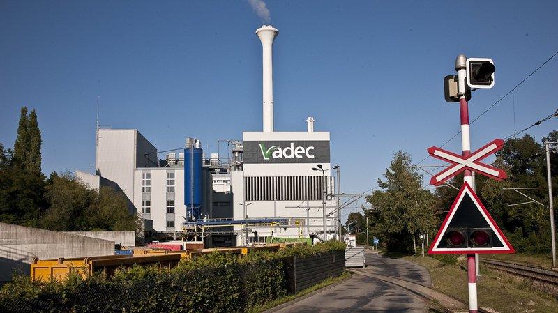 Un début d'incendie s'est déclaré ce jeudi vers 10h30 à l'usine d'incinération Vadec de Colombier.