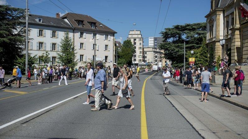 Neuchâtel: l'Avenue du Premier-Mars va subir six mois de travaux