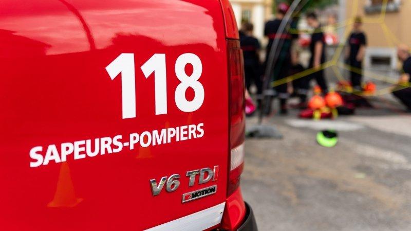 Les pompiers du DPS 2 du Val-de-Travers ont pu maîtriser le sinistre à temps.