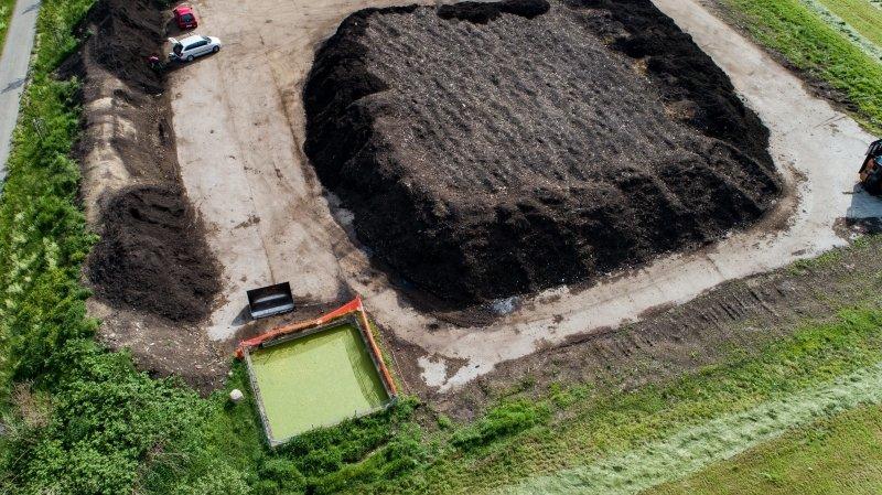 Val-de-Ruz: l'exploitant de la compostière condamné