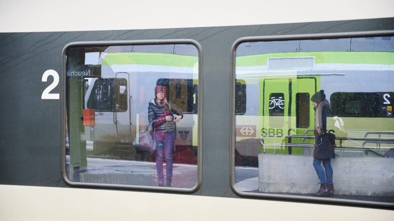 Canton de Neuchâtel: la police sera davantage présente dans les gares