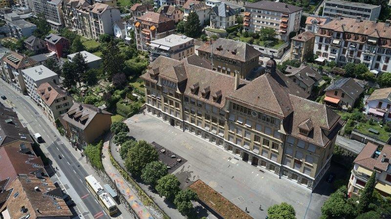 Neuchâtel: le collège des Parcs pourra commencer sa mue