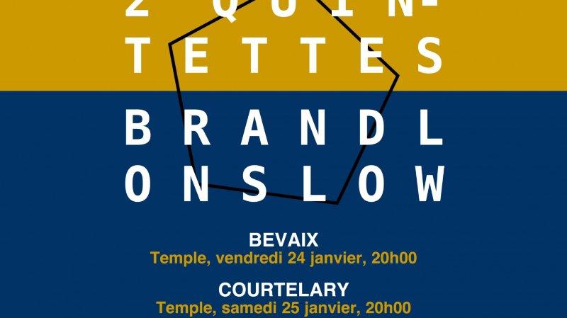 Deux quintettes par Les Chambristes!