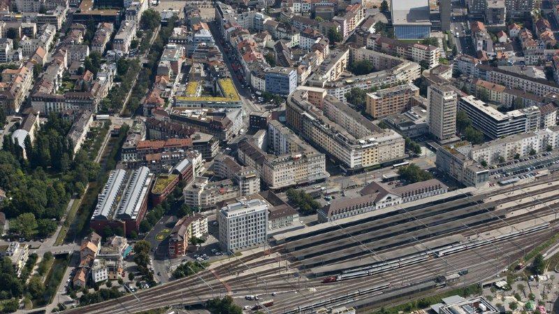 Le projet devrait voir le jour non loin de la gare de Bienne.