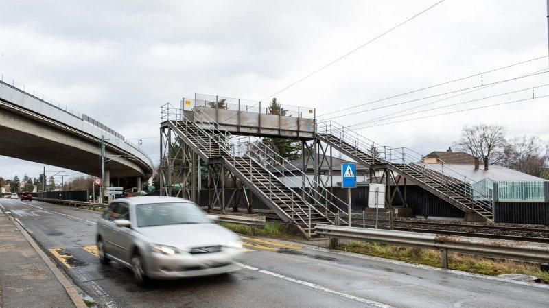 Le Landeron: des citoyens s'opposent à la démolition d'une passerelle piétonne