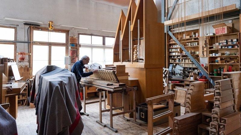 Val-de-Ruz: l'âge d'or de la Manufacture d'orgues de Saint-Martin est loin