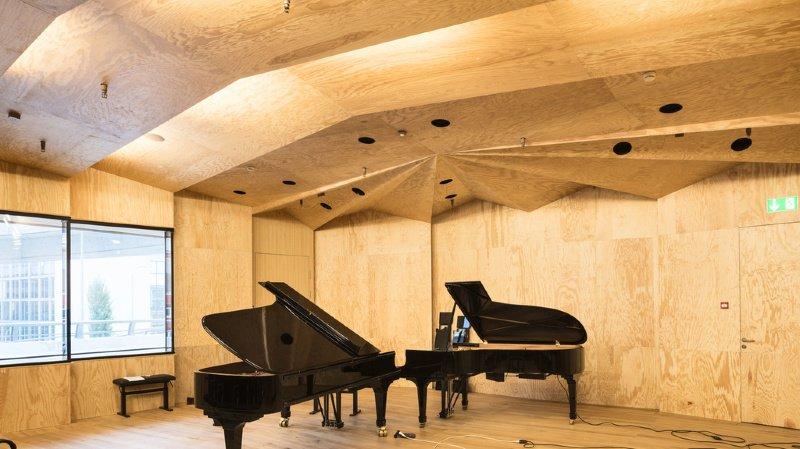 Le patrimoine actuel est de 128 pianos.