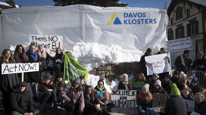 WEF 2020: la police zurichoise a interpellé des centaines d'activistes