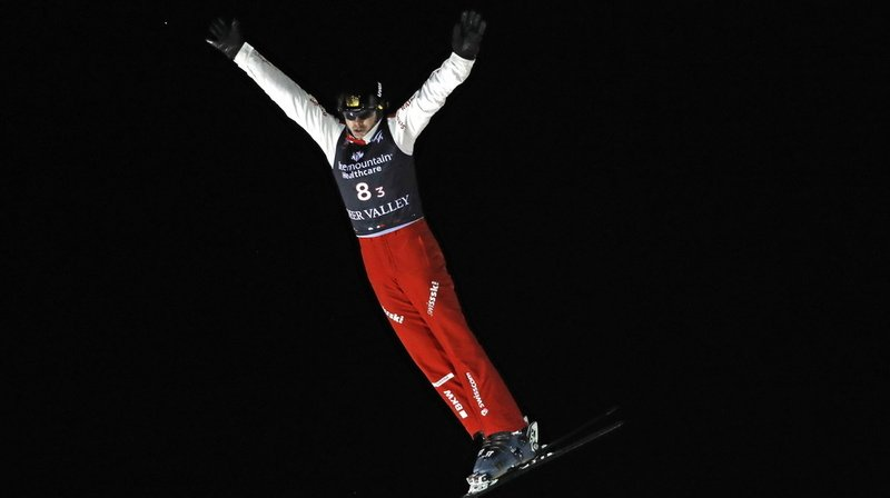 Noé Roth a décroché son 4e podium en Coupe du monde d'Aerials.