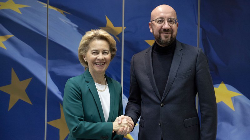 Les présidents de la Commission européenne et du Conseil européen ont signé vendredi l'accord de Brexit.