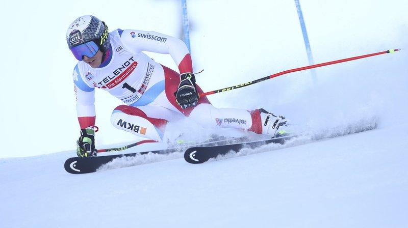 Partie avec le dossard n°1, la Suissesse n'a pas eu assez de vitesse dans le plat final.