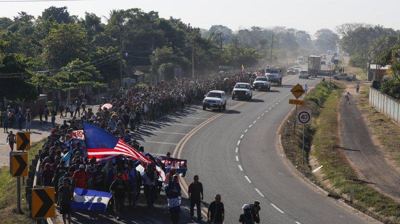 Mexique: des centaines de migrants d'Amérique centrale arrêtés