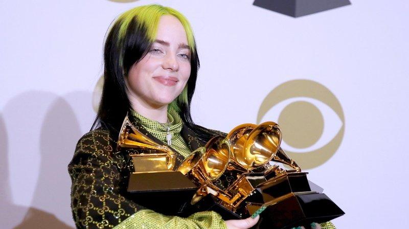 Musique: jeune et talentueuse, Billie Eilish, fait main basse sur les Grammy Awards
