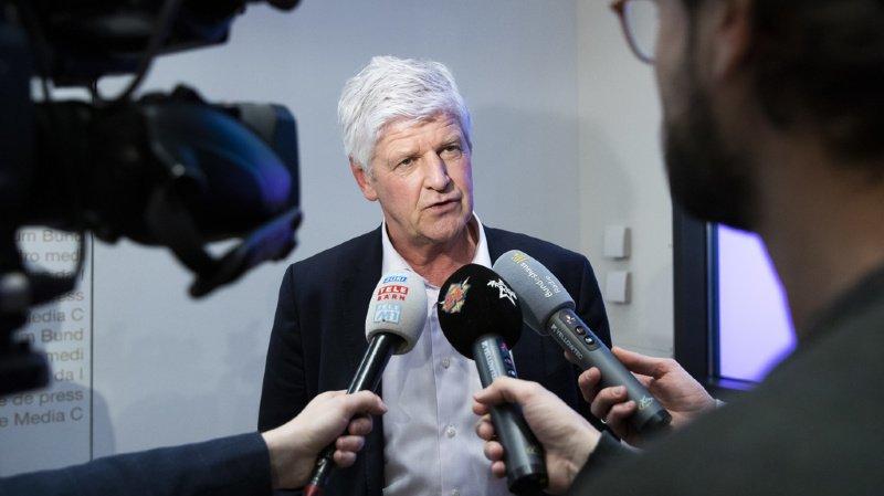"""Ces personnes vont """"bien"""", a précisé devant la presse Hans-Peter Lenz."""