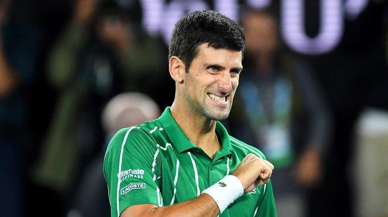 Le Serbe s'est arraché pour remporter son 17e titre du Grand Chelem.
