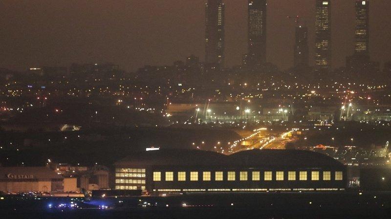 Madrid: un Boeing d'Air Canada atterrit d'urgence
