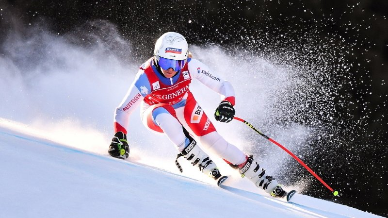 Ski alpin: Corinne Suter domine l'entraînement de la descente de Garmisch-Partenkirchen