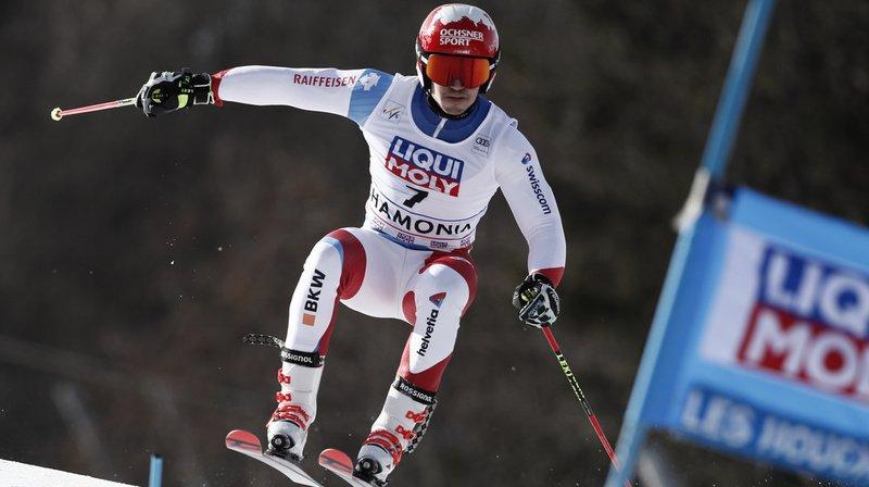 Ski alpin: Loïc Meillard remporte le géant parallèle de Chamonix dans une finale 100% suisse