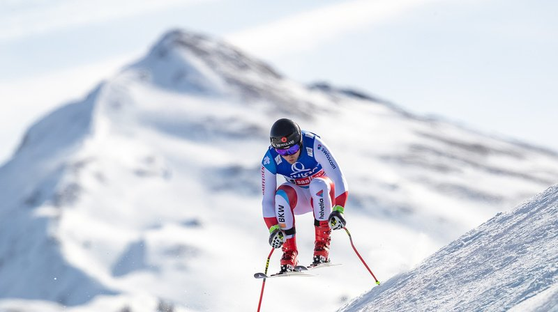 Ski alpin: Mauro Caviezel termine 2e du super-G de Saalbach, remporté par Aleksander Kilde