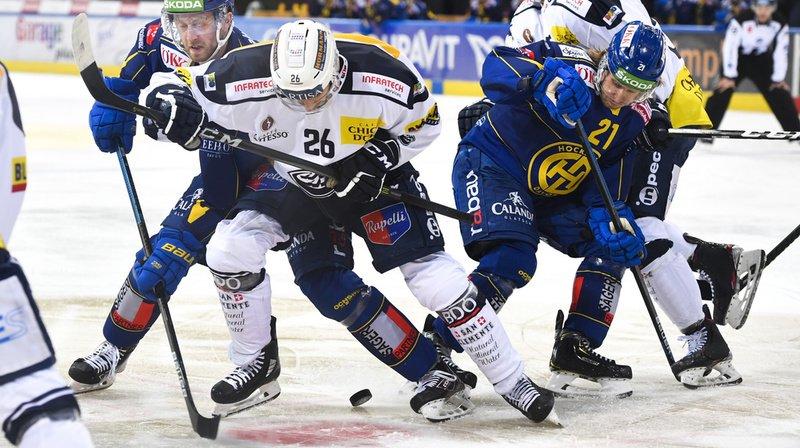 Hockey: Davos bat Ambri-Piotta après la séance de tirs au but