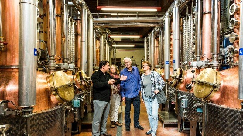 Visite guidée: Distillerie Morand