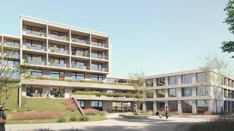 Neuchâtel: pour s'adapter aux besoins futurs, le home des Charmettes s'agrandit