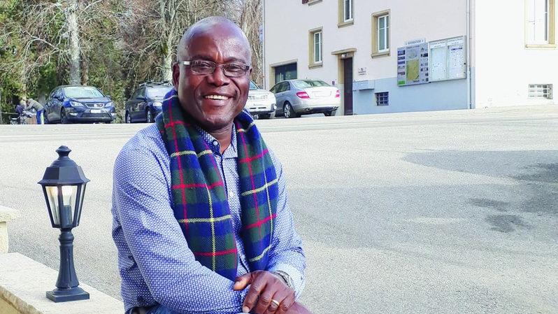 Edmond Akakpo-Manzoni vit à La Ferrière depuis un an et demi.