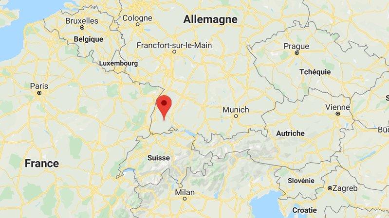 La course sauvage s'est déroulée dans le sud de l'Allemagne, près du lac Titisee.
