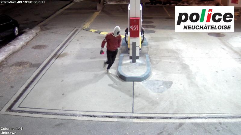 La Chaux-de-Fonds: brigandage dans la station-service Shell du Pod