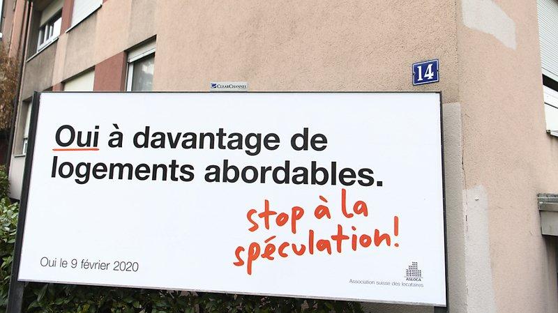 Votations du 9 février: l'initiative pour des logements abordables perd du terrain