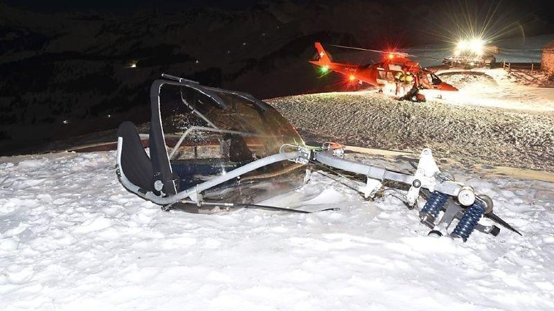 L'accident s'était produit le 6 février sur l'installation Fronalpstock.