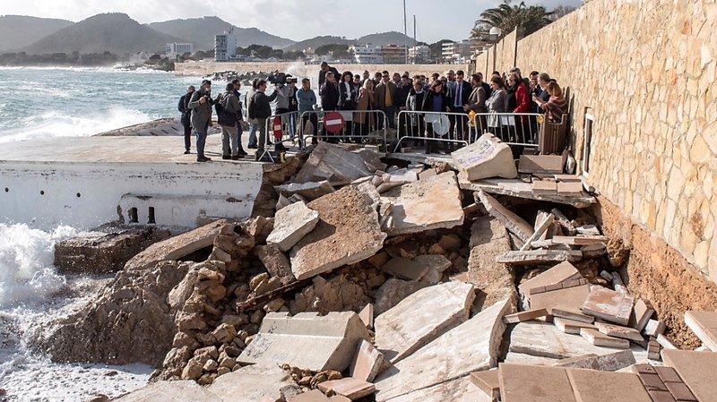 Tempête Gloria en Espagne: le bilan s'alourdit à onze morts