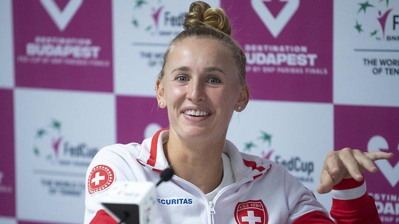 Tennis – Barrage de FedCup à Bienne: Jil Teichmann ouvrira vendredi les feux face au Canada