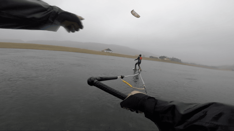 Les bronzés font du ski… sur le lac des Taillères