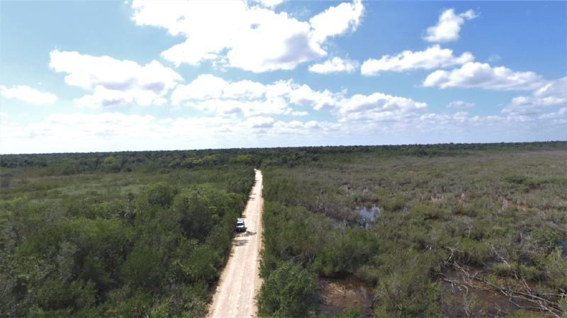 Le corridor biologique mesure pas moins de 280 km2.