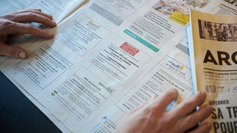 Neuchâtel: le taux de chômage a augmenté au mois de janvier