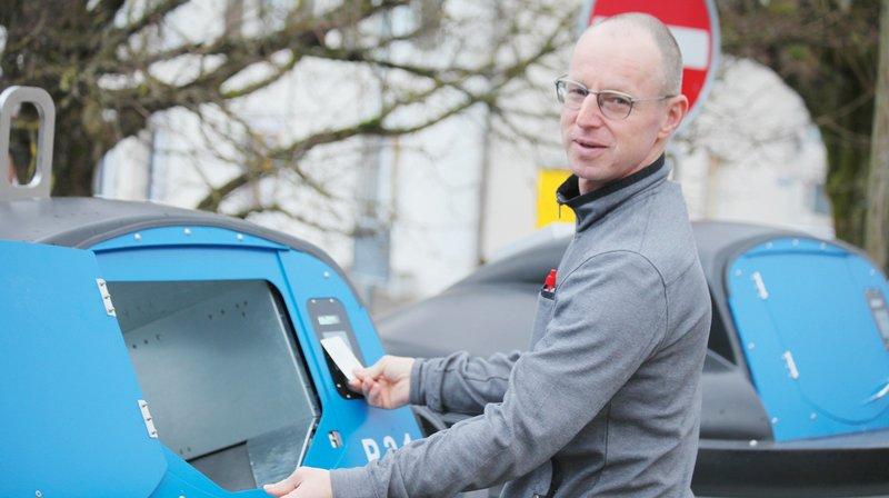 Conseiller communal de Plateau de Diesse responsable des services techniques, Frédéric Racine est convaincu que le nouveau système incitera les usagers à mieux trier leurs déchets.