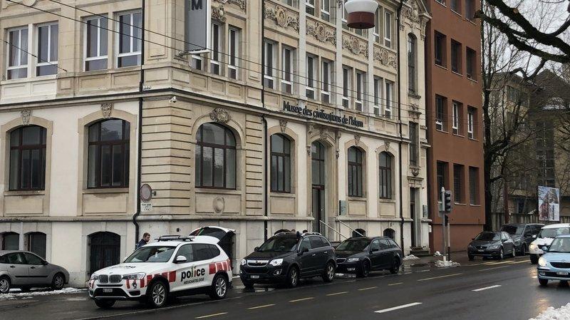 La Chaux-de-Fonds: le bâtiment du Mucivi théâtre d'une agression au couteau