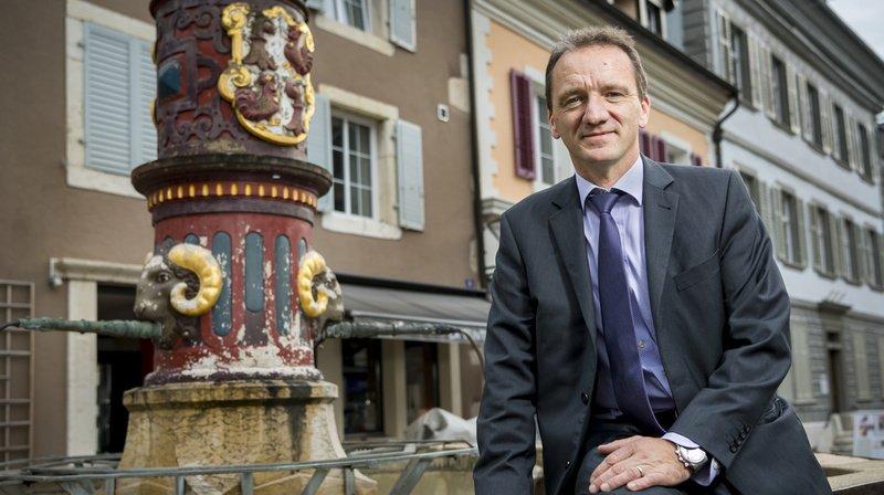 Romain Schaer, candidat UDC, devrait se maintenir pour le deuxième tour des élections partielles au Gouvernement jurassien.
