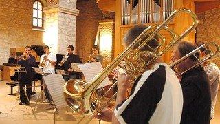 Avec leurs instruments à vent ou leurs percussions, de jeunes musiciens se mesureront au Conservatoire