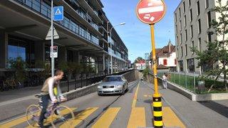 Neuchâtel: la circulation au Crêt-Taconnet pourrait changer de sens