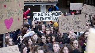 Neuchâtel: après un an, les grévistes sont toujours aussi chauds pour le climat