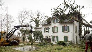 La tempête Ciara a causé plusieurs dégâts à travers le canton