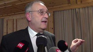 WEF: L'heure du bilan pour Guy Parmelin